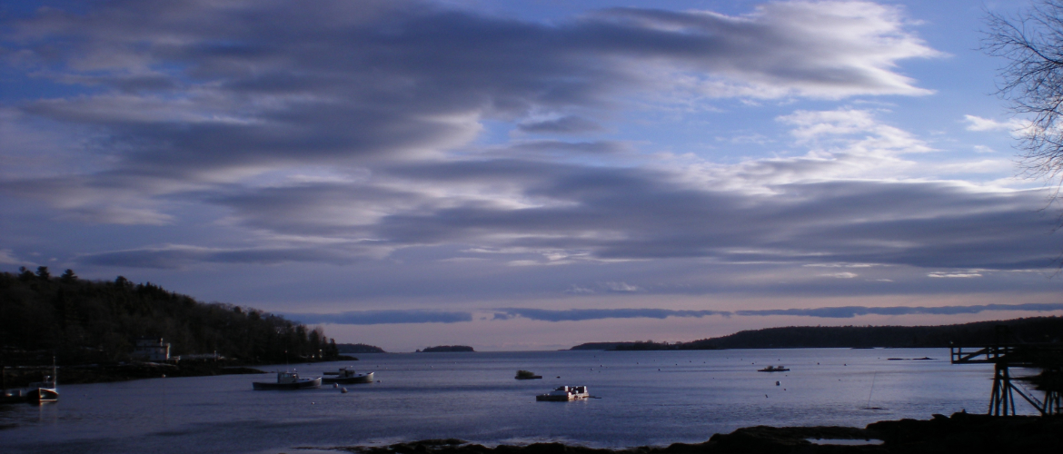 Maine coast sky, for The Resilient Activist