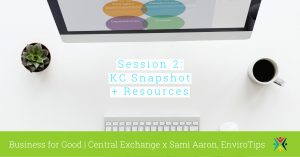 Session 2 of 3: KC Snapshot and Resources [Business for Good] @ Central Exchange | Kansas City | Missouri | United States