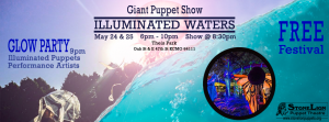 Illuminated Waters with StoneLion Puppet Theater @ Theis Park | Kansas City | Missouri | United States