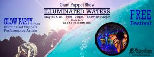 Illuminated Waters with StoneLion Puppet Theater @ Theis Park | Kansas City | Missouri | United States